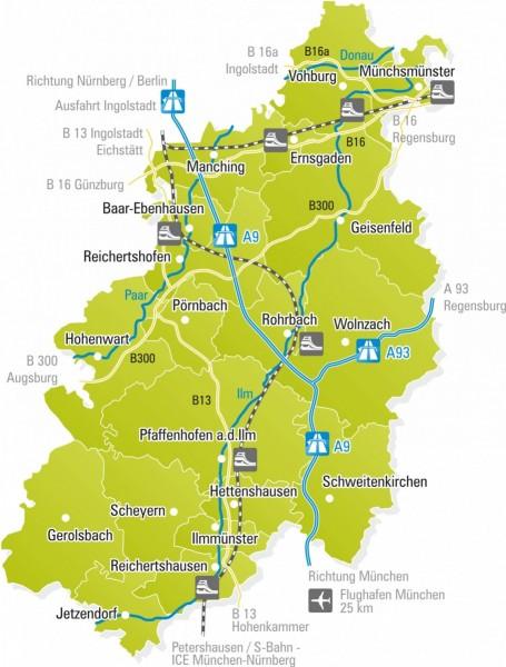 LKR PAF (Landkreis-Karte)