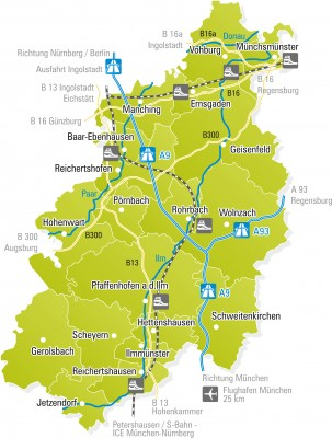 LKR PAF (Landkreis-Karte - Version A - Grün - FINAL - RGB - nur Eigendruck) 2015-04-11