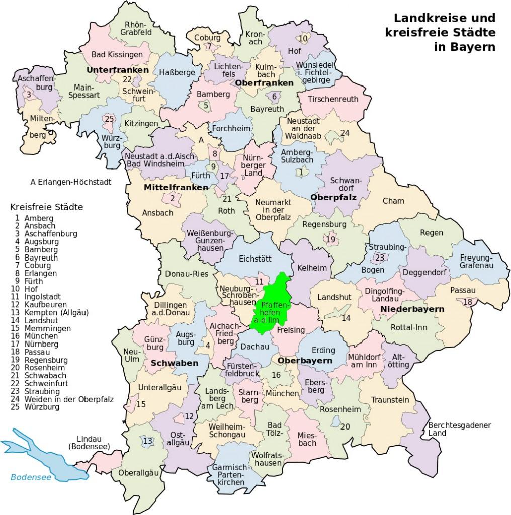 Karte Oberbayern Landkreise.Tourismus Im Landkreis Pfaffenhofen A D Ilm