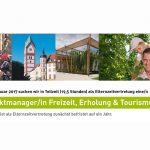 stellenanzeige kus landkreis pfaffenhofen tourismus