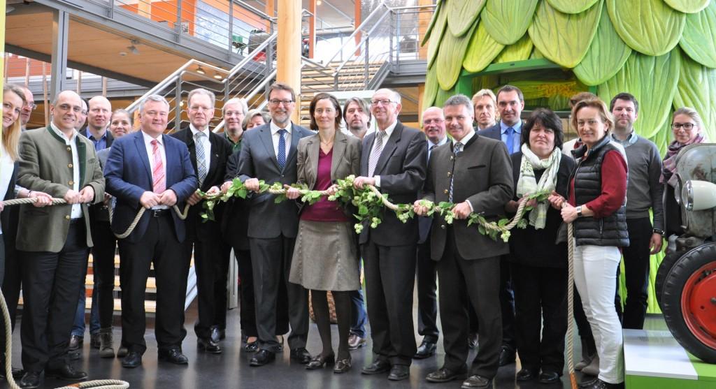 Vorstandschaft und Fachbeirat vom Hopfenland Hallertau Tourismus e.V.