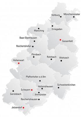 LKR PAF (Landkreis-Karte - Version G - Grau - 4c - FINAL - Kurve
