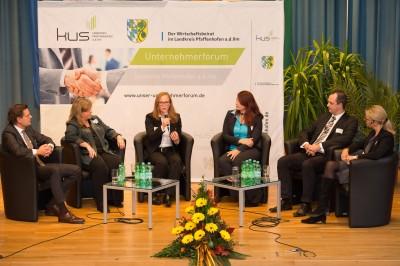 Unternehmerforum 2015 Podiumsdiskussion Landkreis Pfaffenhofen