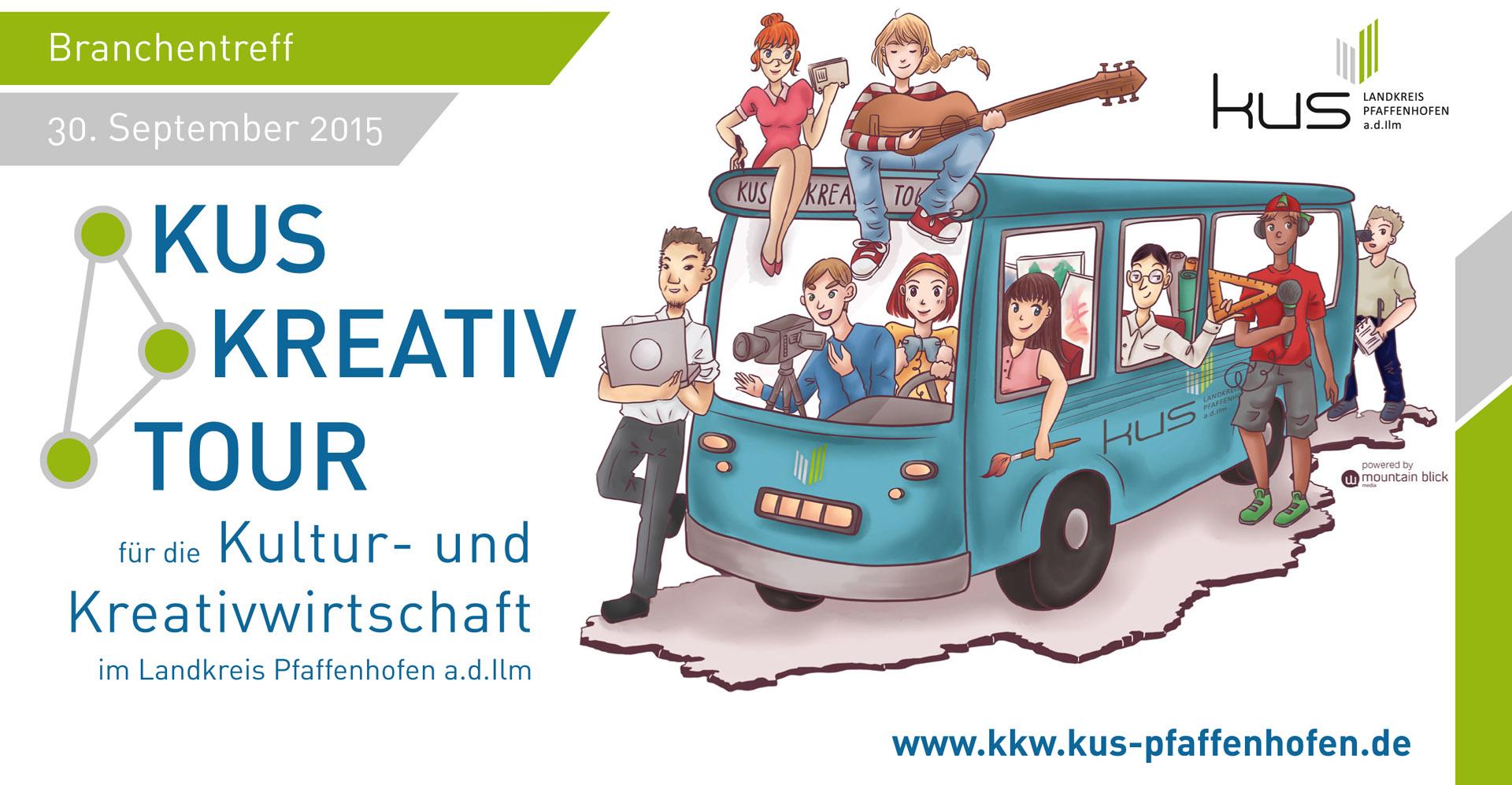 Kus Kreativ Tour 2015 Landkreis Pfaffenhofen