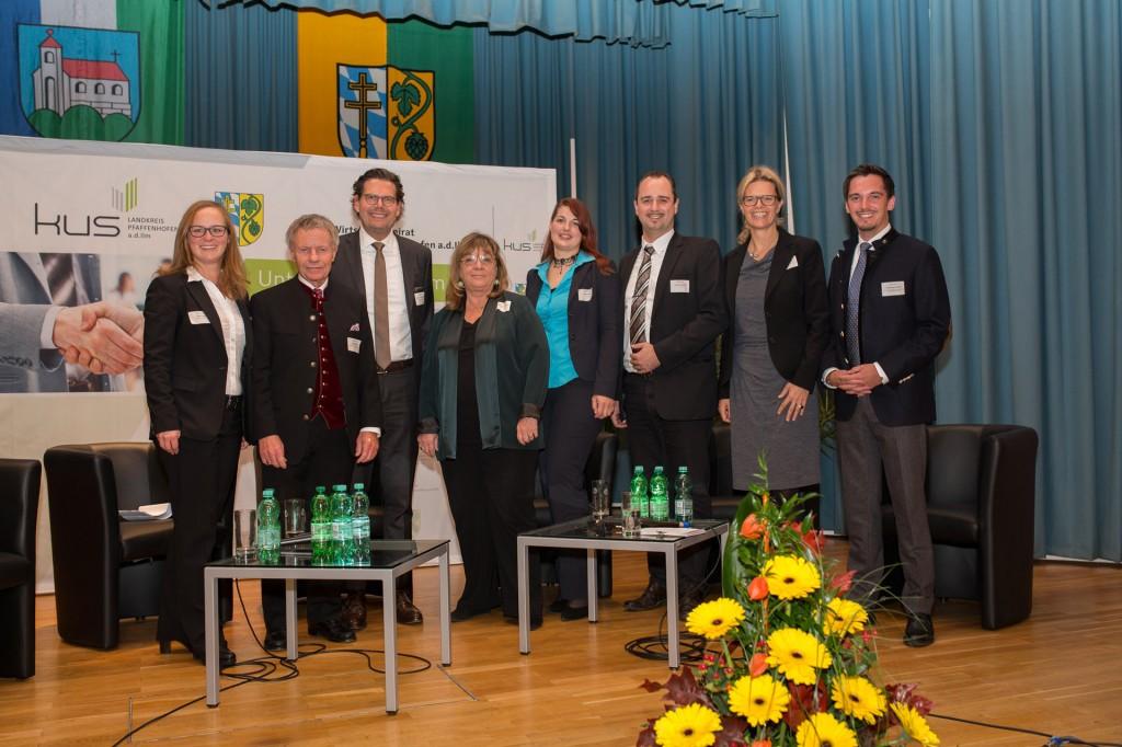 unternehmerforum gruppenbild landkreis pfaffenhofen