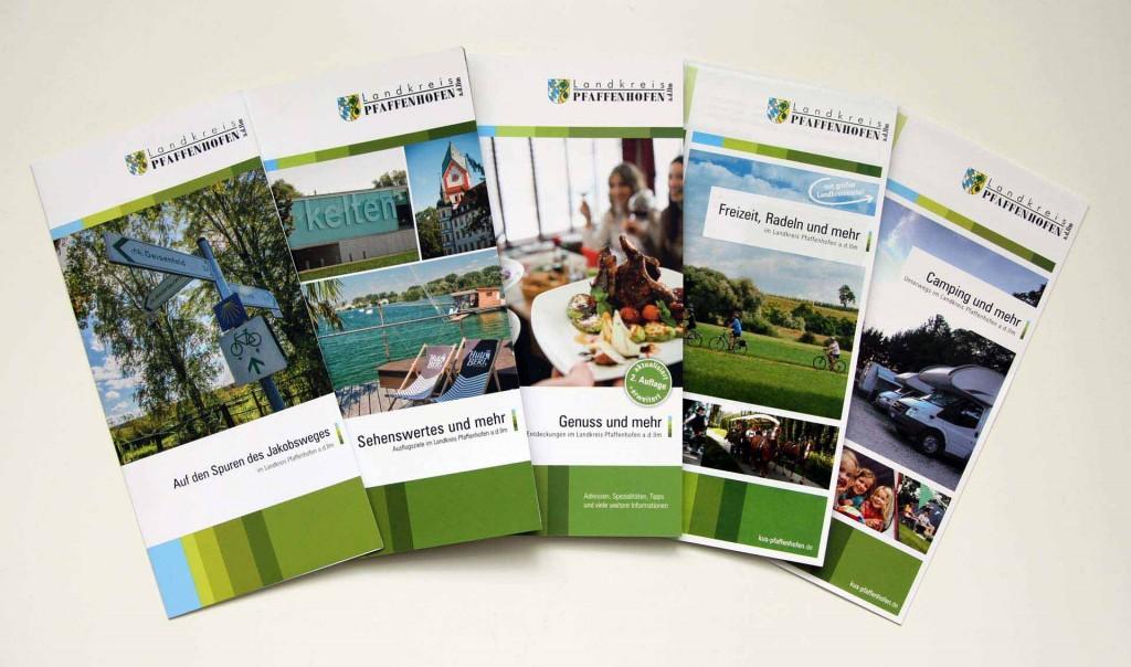 Broschüren Tourismus Landkreis Pfaffenhofen a.d.Ilm